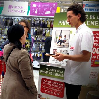 Agence la prod par 3 retail marketing animations instore et outstore - Auchan eco energie ...